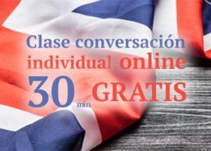 Clase conversación individual online GRATIS
